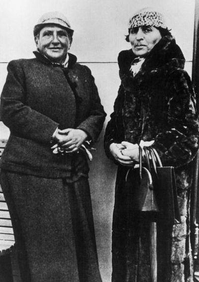 Gertrude Stein and Alice B. Toklas
