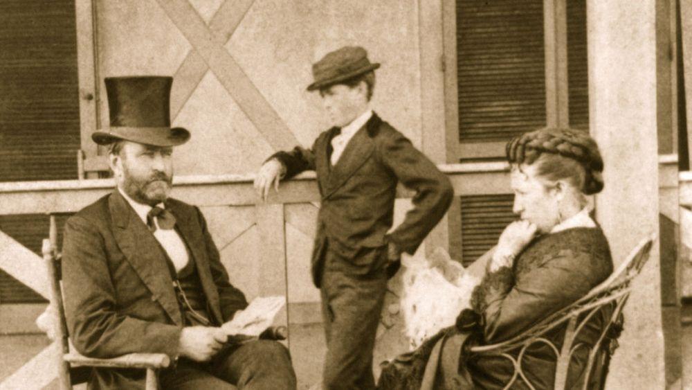 Ulysses and Julia Grant