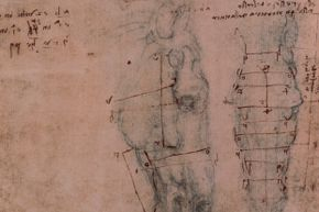 It isn't surprising that da Vinci, known for both his studies of anatomy and his mechanical creations, would have turned his hand to creating an automaton.