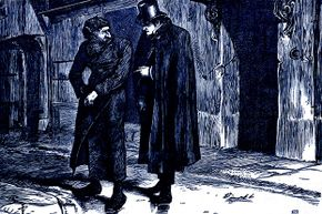 """When people hear the word """"Dickensian"""" they imagine a scene like this one from """"Oliver Twist"""" — a place full of darkness and grime. But """"Dickensian"""" can also meant characters that are larger than life or portrayed sentimentally."""