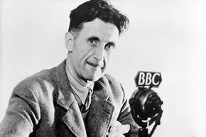 """British author George Orwell is the source for the word """"Orwellian"""", a term that has been used by writers on both the left and the right."""