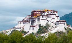 Potala Palace was once home to the Dalai Lama.