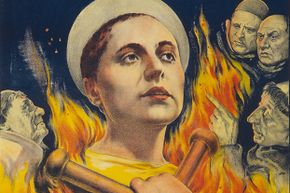Many still consider Maria Falconetti's performance as Joan of Arc to be one of the best on film.