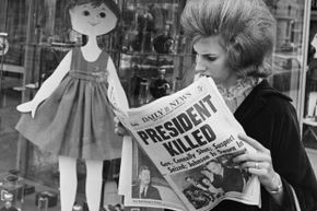 The comparisons people draw between the assassinations of presidents Lincoln and Kennedy are mere coincidences.