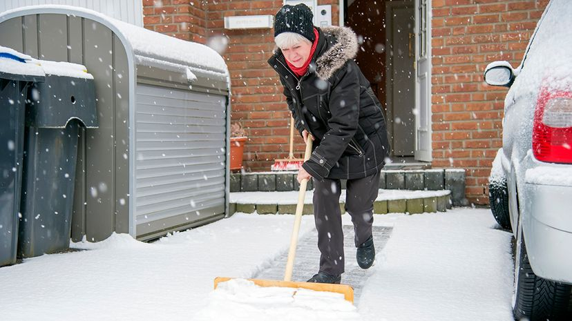 A new analysis of hip injury seasonality finds that elderly patients are actually less likely to experience an injury in colder months. Westend61/Getty Images