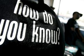 """The Black AIDS Institute used the slogan """"How Do You Know?"""" to encourage HIV testing."""