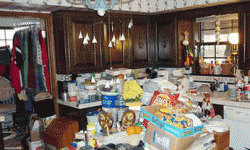 Compulsive hoarding is usually linked to an anxiety disorder.