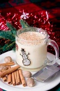 Eggnog is a popular holiday beverage. See more cocktail pictures.