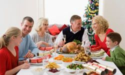 Try not to double-book holiday events and occasions.