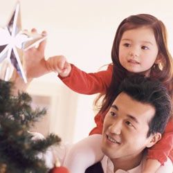 Let kids and other family members help you with holiday tasks.