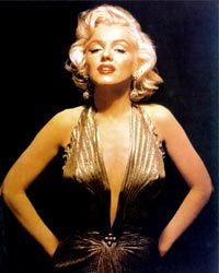 Despite Monroe's glib partygirl performances, she was frequently troubled.
