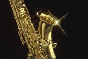 Let your love of jazz shine through with this unique lamp.