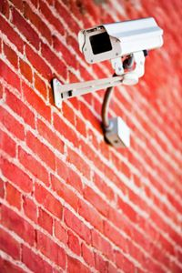Newer security camera don't have to be this intrusive. There are much smaller options available.