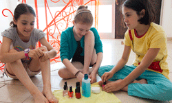 Color is the best part of the at-home pedicure.