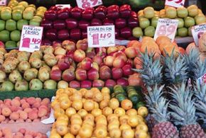 Fruit is full of vitamins and minerals, and it helps to satisfy that sweet tooth.