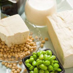 Soy is a versatile plant, so you'll have plenty of choices if you want to incorporate it in your diet: soy milk, tofu, edamamae and more.