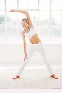 Warm-up and cool-down exercises help prepare muscles for a more intense workout.