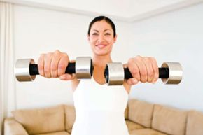 Follow these easy exercises to get in shape at home.