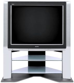 With a 40-inch screen, the Sony Wega is at the upper limit of direct-view televisions.