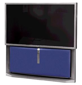 A 53-inch widescreen rear-projection television from Sony