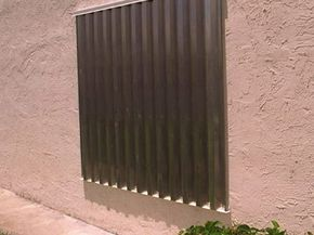 If you live in a hurricane prone area, investing in storm shutters could save you money and save your windows in a storm.
