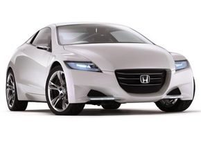 The Honda CR-Z is a new hybrid concept that aims to add a sportier element to the technology.