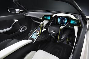 The Honda EV-STER Concept