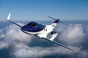 It shouldn't be a surprise that the world's largest producer of motorcycles and engines would want to build its own jet. See more flight pictures.