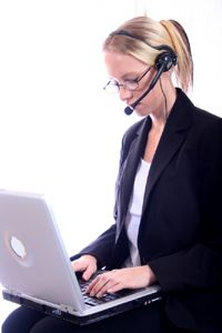 Web conference hosting services provide live-tech support.