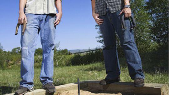 How to Build a Backyard Horseshoe Pit