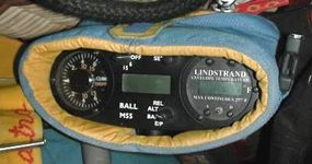 The pilot carries several instruments onboard the balloon.