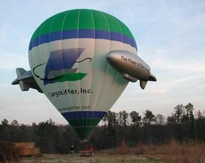 You'll get to see some awe-inspiring views if you fly in an air balloon.