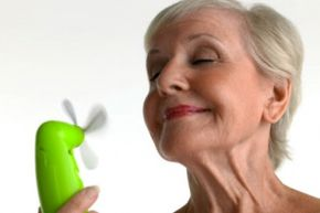 Hot flashes aren't necessarily dangerous, but they are uncomfortable.