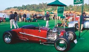 This Dick Williams 1927 Ford Model T was entered in the 1997 Pebble Beach Concours d'Elegance. See more custom car pictures.