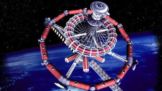 How could a hotel orbit the Earth?
