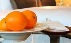 Most hotels offer free breakfast, but watch out for other amenities.