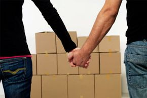Did you spend your honeymoon canoodling or moving into a new house?