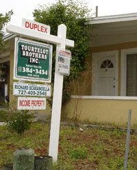 A fixer-upper for sale in St. Petersburg, Fla.