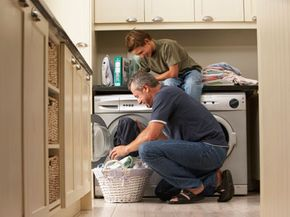 You won't have housekeeping to make your bed, but if your house swap includes a washer, you can wash your clothes.