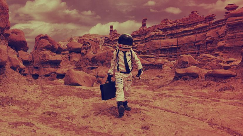 Martian Commute, life in Mars