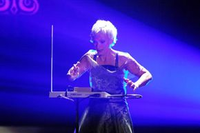 She may not be using a Moog, but Barbara Buchholz, a famous modern thereminist, nevertheless demonstrates the enduring appeal of the theremin.