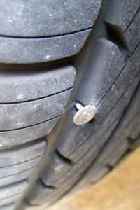 Your tires are subjected to nails and a variety of other road hazards each and every time you drive your car.