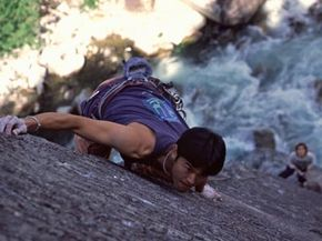 Photos taken during a rock climbing trip can provide you with dramatic memories. See our collection of extreme sports pictures.