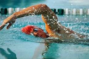 Pull buoys are most helpful when you're working out using a freestyle stroke.
