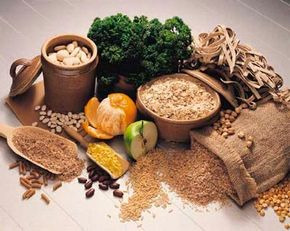 Grains, nuts, beans, and dark greens can help to prevent headaches caused by qi deficiency. See more pictures of traditional Chinese medicine.