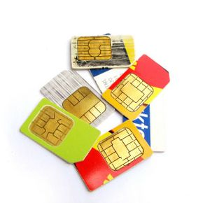 SIM cards are small chips about the size of your thumb, but it's the key to unlocking a locked cell phone.