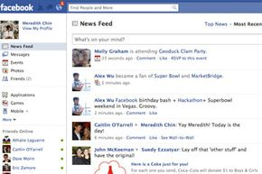 It may look complicated, but once you get used to Facebook, it's actually very easy to use.