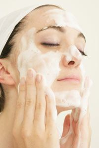 Beautiful Skin Image Gallery It's important to use a facial cleanser that suits your skin type. See more pictures of ways to get beautiful skin.