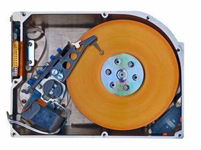You need a nice, fast hard drive for your new DVR. The larger disk you buy, the more shows you can save.