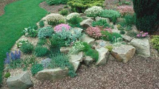 How to Build a Rock Garden